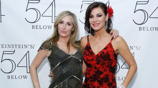 Countess Luann De Lesseps' 'RHONY' Co-Stars Support Her At Her Holiday Cabaret Show