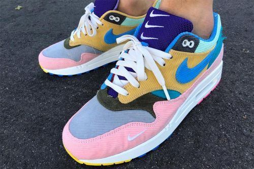 Sean Wotherspoon Created a Wild, Multi-Color Bespoke Air Max 1