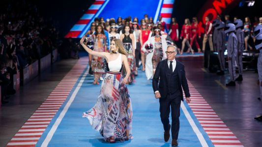 Gigi Hadid and Tommy Hilfiger Race Off Into the Sunset Together