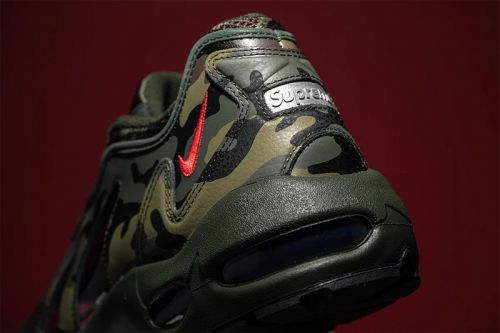 "Here's a First Look at the Supreme x Nike Air Max 96 ""Camo"" Collaboration"