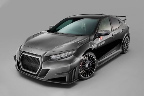 Mugen Releases Its Take on the Civic Type R