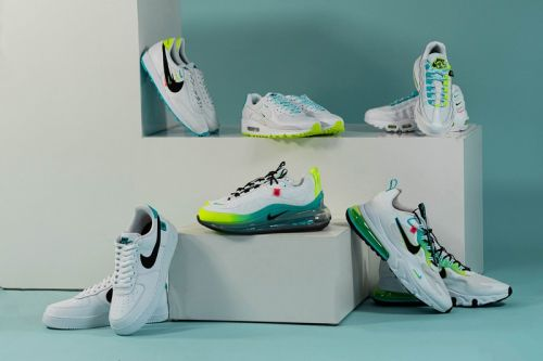 """Mini Swooshes and Bold Colors Dominate Nike's """"Worldwide Pack"""" Collection"""