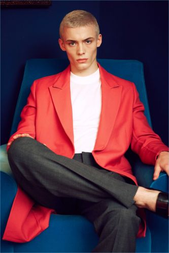 João Knorr Dons Sleek Numbers for Esquire Latin America