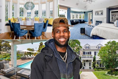 LeBron James lists massive LA home for $20.5M
