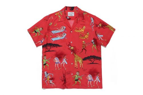 Neck Face and WACKO MARIA Cover Hawaiian Shirts With Frightening Illustrations