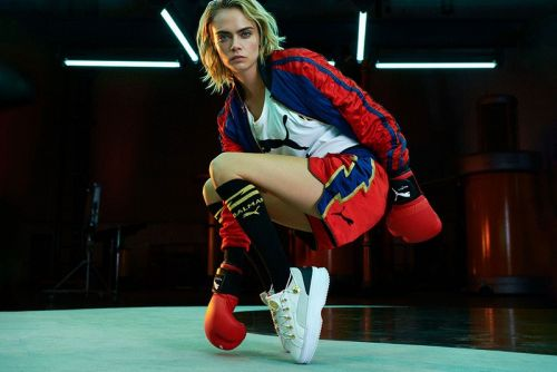 Balmain and PUMA Link for Unisex Boxing-Inspired Collaboration
