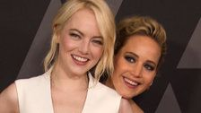Jennifer Lawrence Interviews BFF Emma Stone About Having Kids, Turning 30
