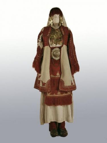 Festival Costume 1800-1850 Macedonia Russian Museum of