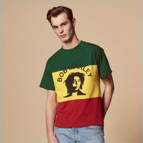 Sandro Celebrates Bob Marley with Capsule Collection