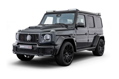 """Brabus Unveils 1-of-10 """"Black Ops"""" & """"Shadow"""" Edition G 63 AMG's"""