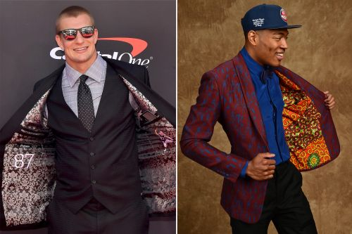 Snazzy pro athletes are adding surprise flair to their menswear