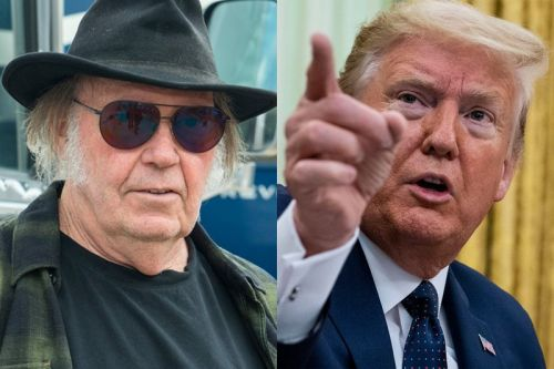 """Neil Young Sues Donald Trump Over Unauthorized Use of """"Rockin' In The Free World"""""""