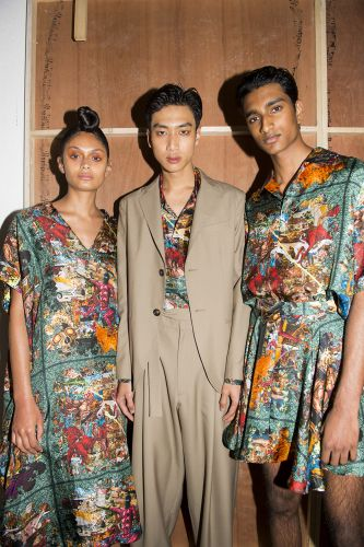 Edward Crutchley: Menswear Spring/ Summer 2019