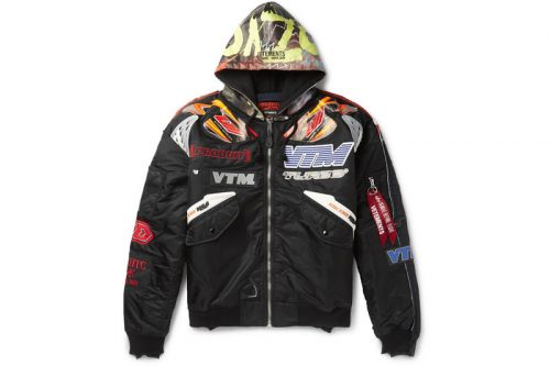 Vetements & Alpha Industries Connect for Racing-Inspired Jacket