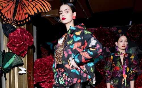 Alice + Olivia inspired by Fantasia for New York Fashion Week