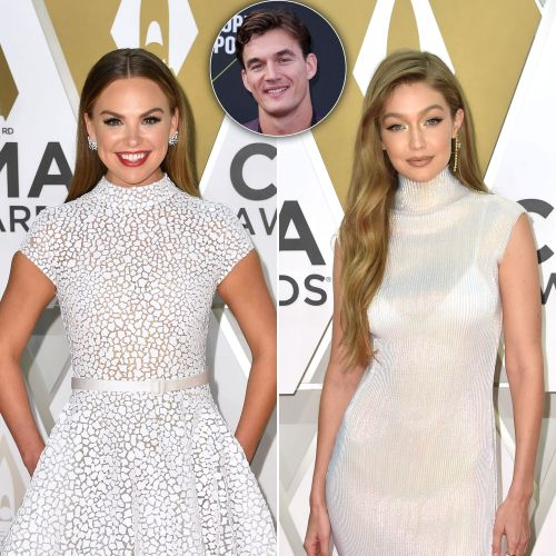 Awk? 'Bachelorette' Hannah Brown and Gigi Hadid Both Attend the 2019 CMAs After Tyler Cameron Split