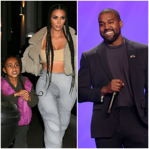 'Daddy's Girl' North West 'Shocked' Kim Kardashian by Saying She 'Wants to Be' With Kanye in Wyoming