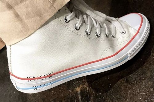 Aaron Bondaroff Shows off Know Wave x Converse Chuck Taylor