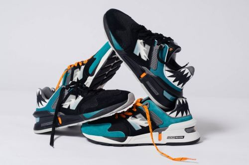 """Shoe Palace X New Balance 997S """"Great White"""" Collection Pays Homage to the Ocean's Apex Predators"""