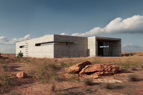 A Solar-Powered Desert House Makes the Perfect Retreat for a New York Couple