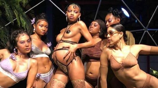 2 Pregnant Models Walked Rihanna's Savage x Fenty Lingerie Show