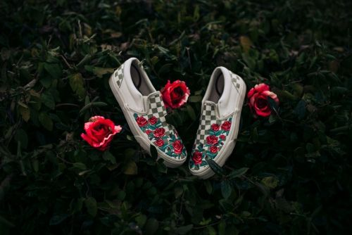 New Vans Slip-On Boasts Embroidered Roses
