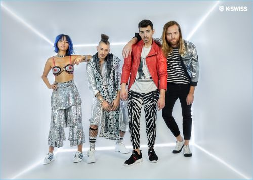 DNCE Reunites with K-Swiss for Capsule Collection