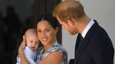 Meghan Markle, Prince Harry Share Previously Unseen Pic Of Little Archie
