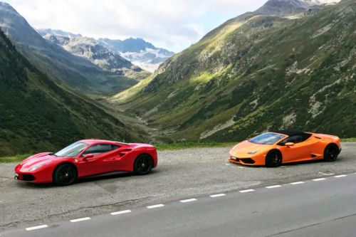 The Ultimate Supercar Tour of the Swiss Alps