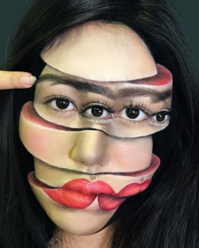 These surreal beauty illusions will melt your mind