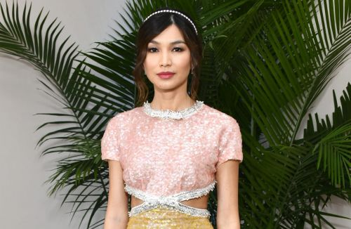 Great Outfits in Fashion History: Gemma Chan in Sparkly Miu Miu
