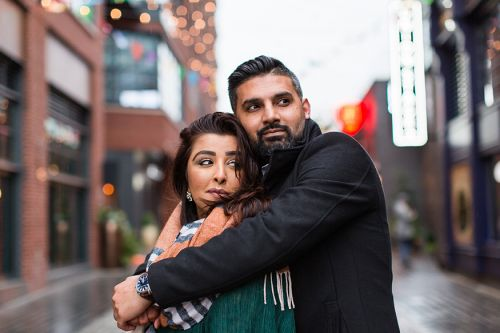 Zoya and Sheheryar Engagement Session by Megan Rei Photography