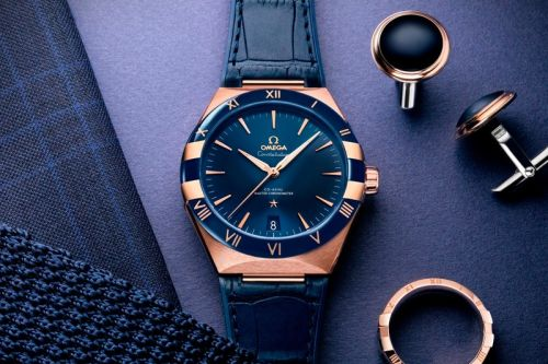 OMEGA Expands on the Constellation With a Gents Collection