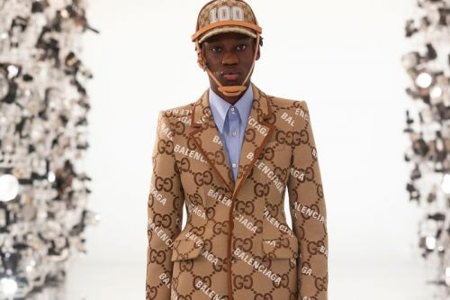 "Gucci Debuts Balenciaga ""Collaboration"" on 100th Anniversary Runway"