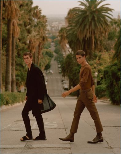 Henry Kitcher & Julian De Gainza Take to the City of Angels with Berluti