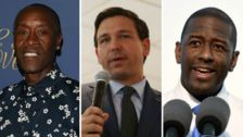 Don Cheadle Ads Call Out Ron DeSantis' Racism, Tell Voters To Elect Andrew Gillum