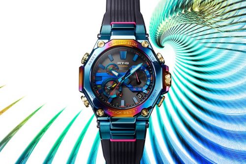 G-SHOCK Blue Pheonix Offers All the Colors of the Rainbow