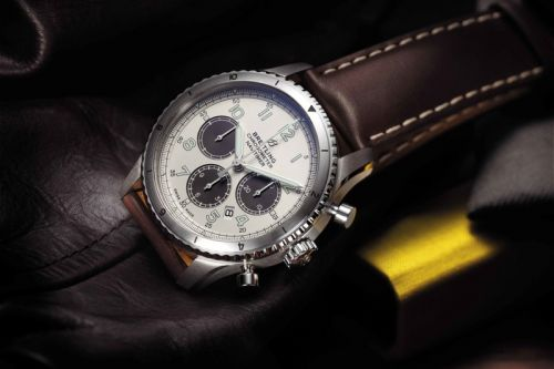Breitling Debuts Exclusive Navitimer 8 for MR PORTER