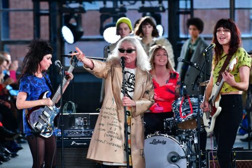 Debbie Harry Sings Out the Models at Coach's Fall 2020 Show