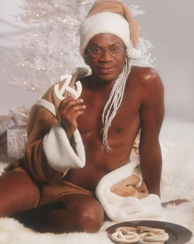 Telfar Clemens turns sexy Santa to reveal his UGG collab is almost here