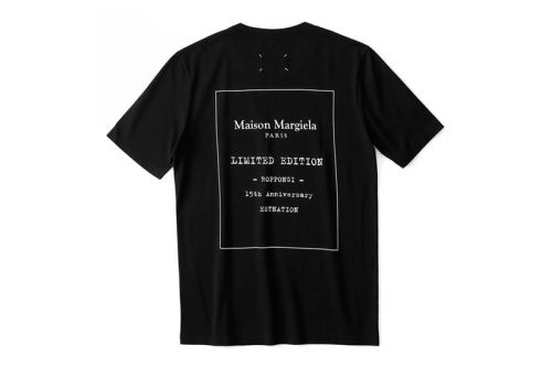 Maison Margiela Celebrates 15 Years at Roppongi Hills Store With Bespoke T-Shirt