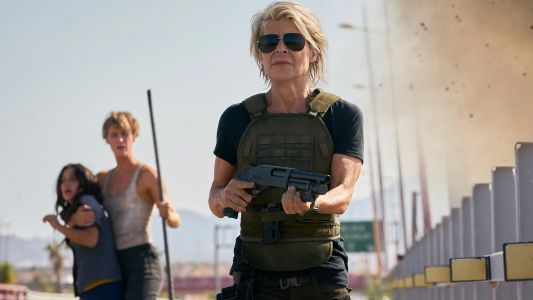 Linda Hamilton needed butt padding for role in 'Terminator: Dark Fate'