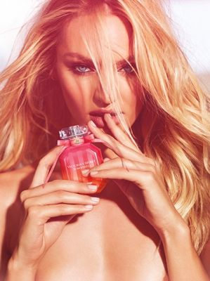 Victoria's secret bombshell fragrance: candice swanepoel