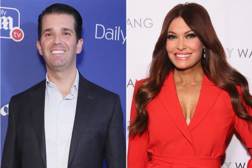 Donald Trump Jr. and girlfriend Kimberly Guilfoyle step out at Fashion Week