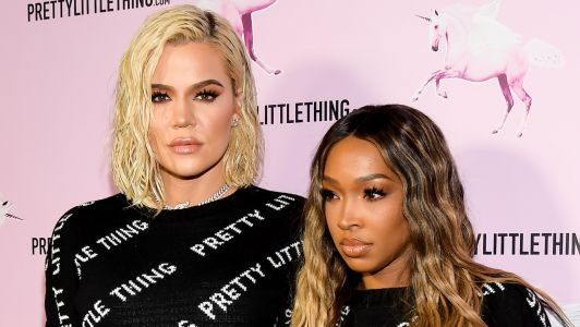 Khloé Kardashian and Malika Haqq Wear Matching Outfits at First Public Appearance Since Cheating Scandal