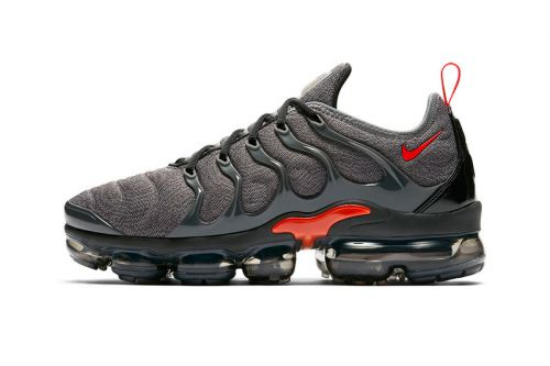 Nike's Air VaporMax Plus Lineup Expands With New Grey/Red Makeover