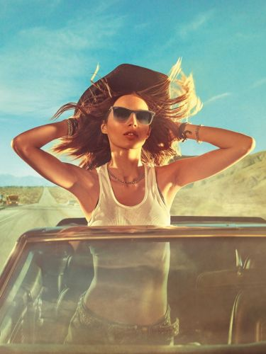 Steven Klein goes on a US road trip for new Ray-Ban campaign