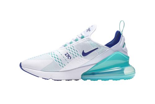 """Nike Air Max 270 Cools Down With """"Hype Jade"""" Colorway"""