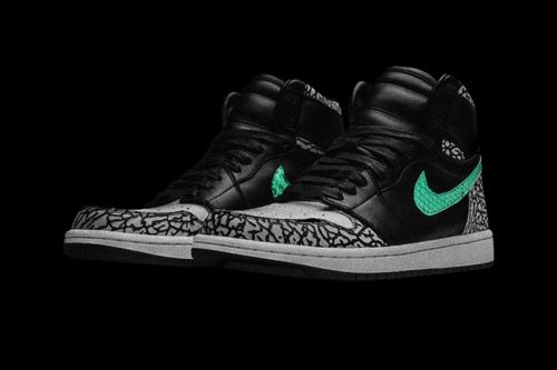 """The Shoe Surgeon Mashes the Air Max 1 """"atmos Elephant"""" With the Air Jordan 1"""