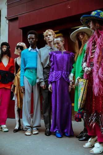 Everything that happened at Gucci's one-time-only Paris show